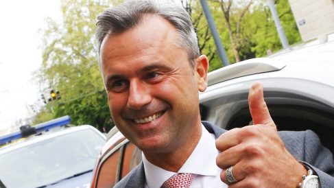 Norbert Hofer, candidato presidencial de extrema derecha (Foto: Reuters)