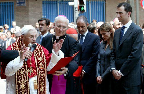 Papa Benedicto Valencia EFE