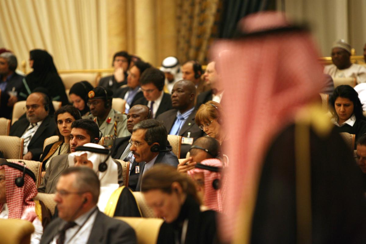 Una cumbre de la OPEP (Foto: GETTY).