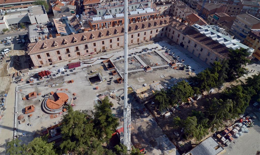 Trinitario Casanova a un paso de recuperar para los vecinos la plaza de San Fernando de Henares