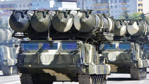 Misiles rusos de defensa tierra-aire S-300 (Foto: Getty)