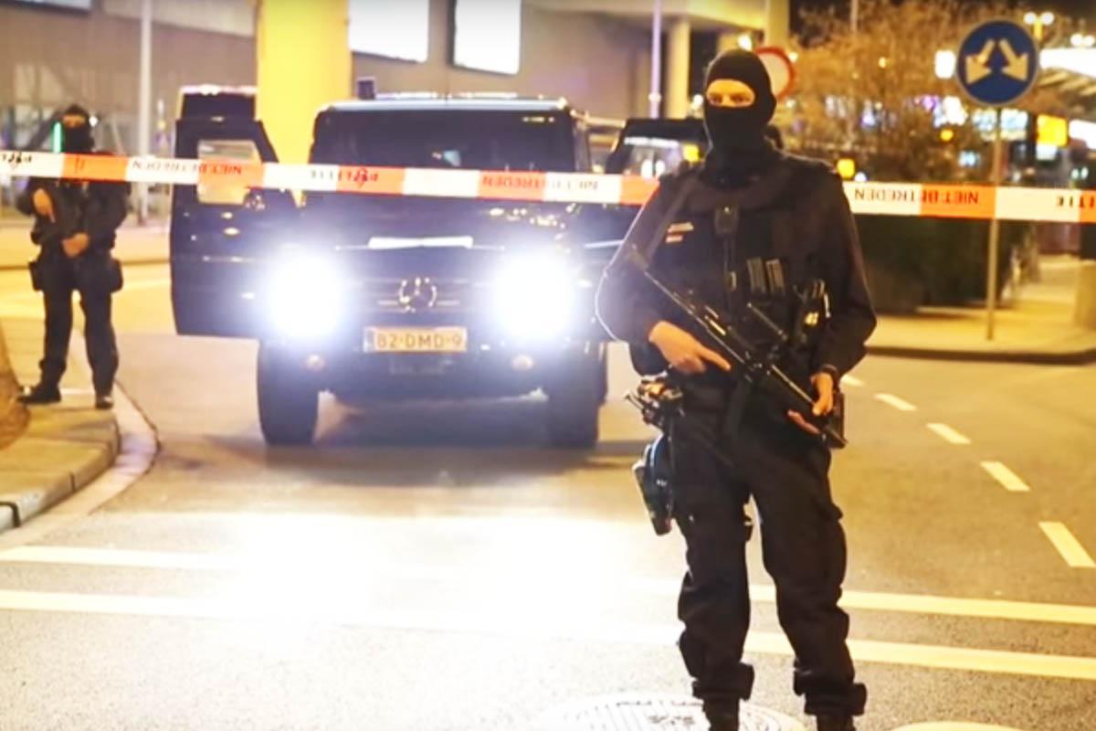 Un agente de la Policía de EEUU