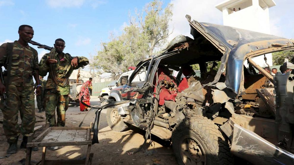 Imagen de un atentado cometido por Al Shabaab en Somalia (Foto: Getty)