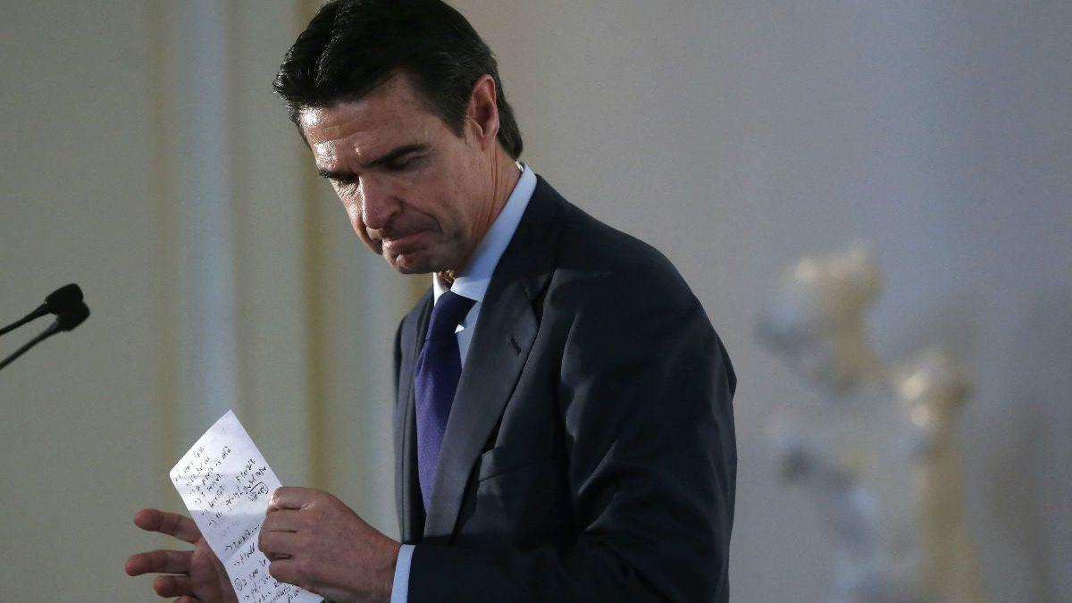 El ex ministro de Industria José Manuel Soria. (Foto: EFE).