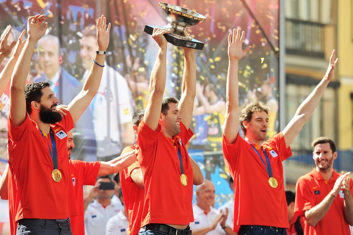 España fue campeona del Eurobasket 2015 (Foto: Getty)