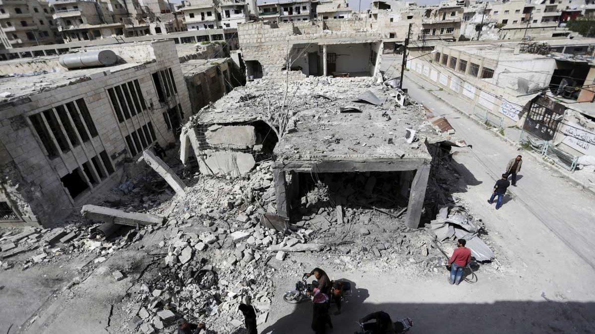 Ataques en Siria (Foto: Reuters)