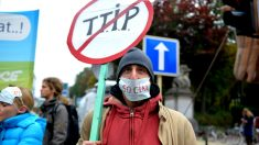 Protestas contra el TTIP en Bruselas (Foto: GETTY).