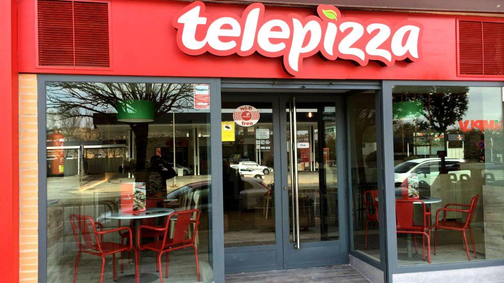 Establecimiento de Telepizza. (Foto: Telepizza)
