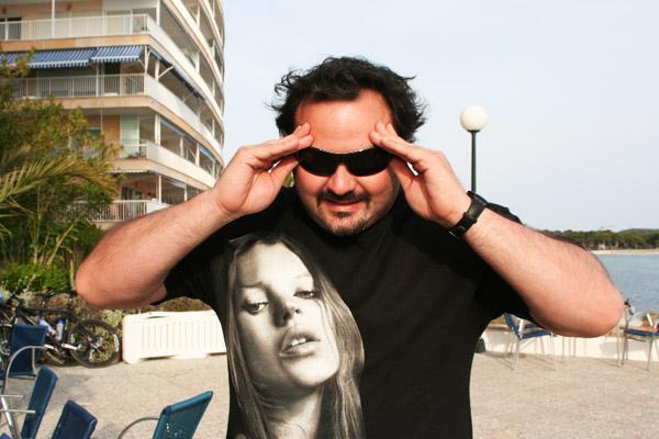 El actor, director y productor porno Torbe.