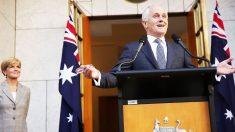 Malcolm Turnbull, primer ministro de Australia (Foto: Gety)