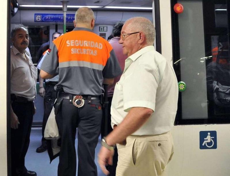 Vigilante de seguridad (Foto: EFE)