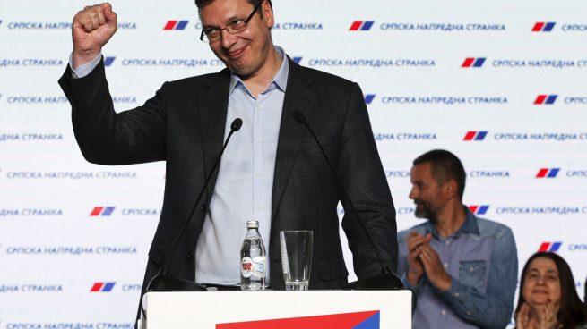 El primer ministro Vucic gana las elecciones presidenciales en Serbia con guiños a la UE