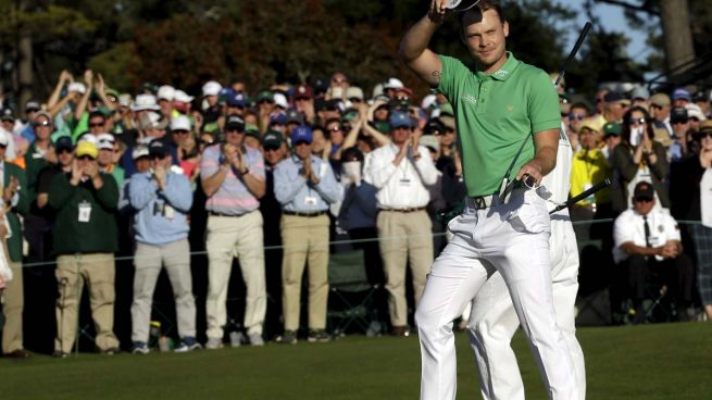 El británico Danny Willett se impone en el Masters de Augusta de golf