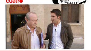 El juez Castro, junto al periodista Jesús Cintora