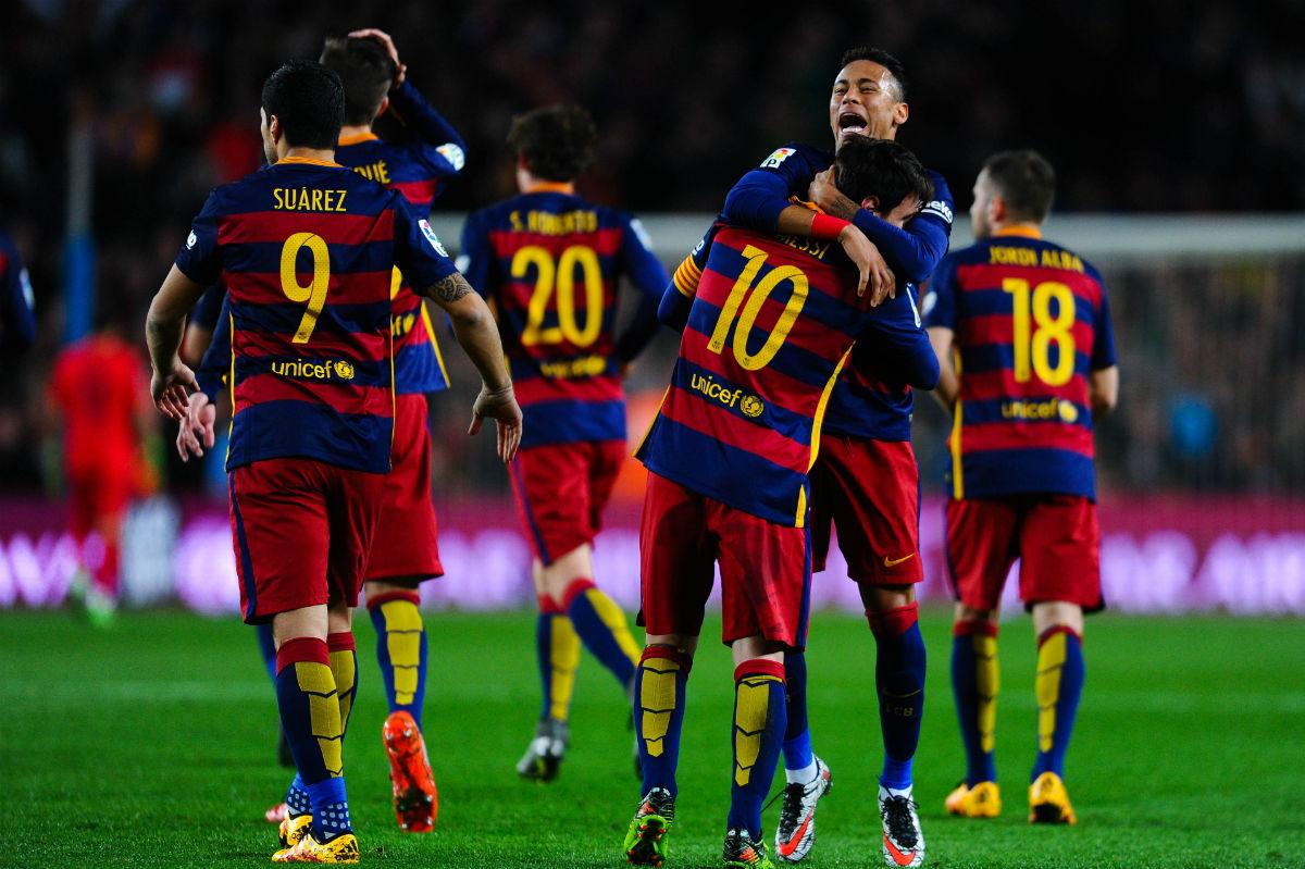 El Barcelona ya tiene alineación oficial para el Clásico. (Getty)