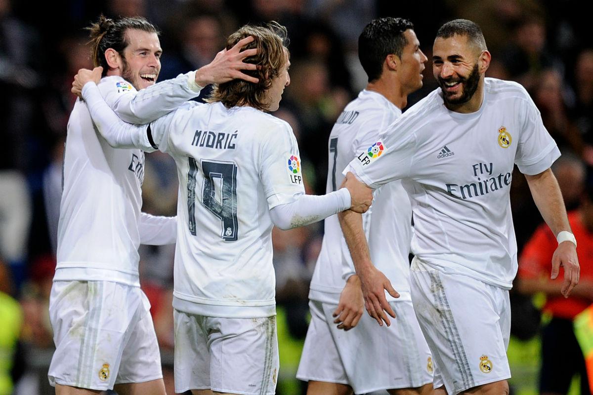 El Real Madrid ya tiene alineación oficial contra el Atlético. (Getty)