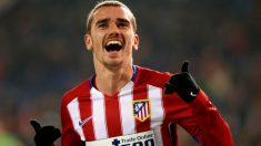 Antoine Griezmann celebra un gol con el Atlético. (Getty)