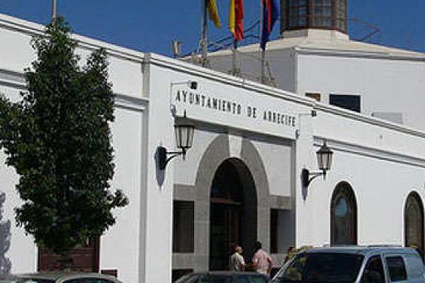 Fachada del Ayuntamiento de Arrecife
