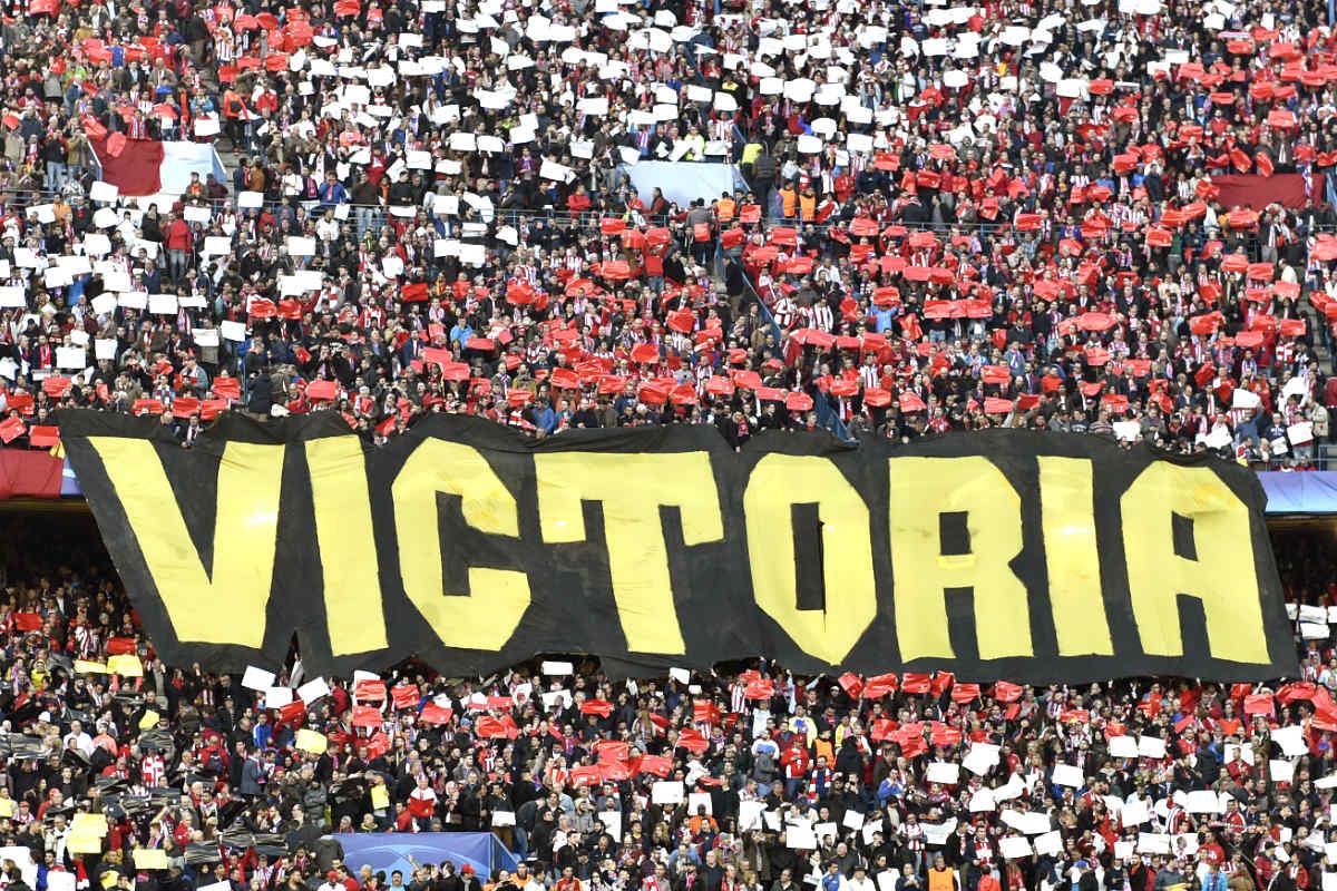 La afición del Atlético está como loca por una entrada para el Atleti-Bayern. (AFP)