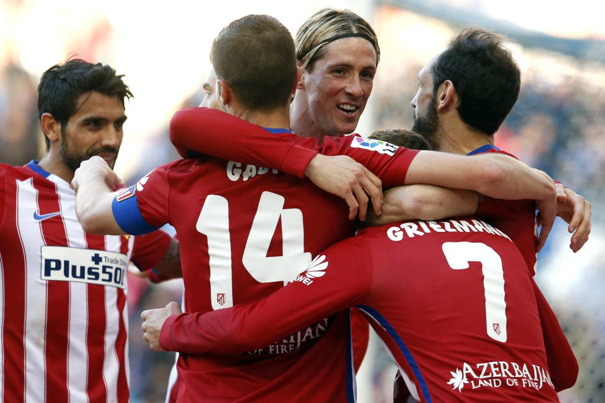 Torres anotó el empate a uno. (AFP)