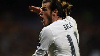 Bale, en un partido del Real Madrid de esta temporada. (Getty)