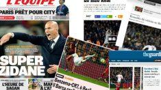 La prensa internacional destaca la victoria del Real Madrid en el Clásico.
