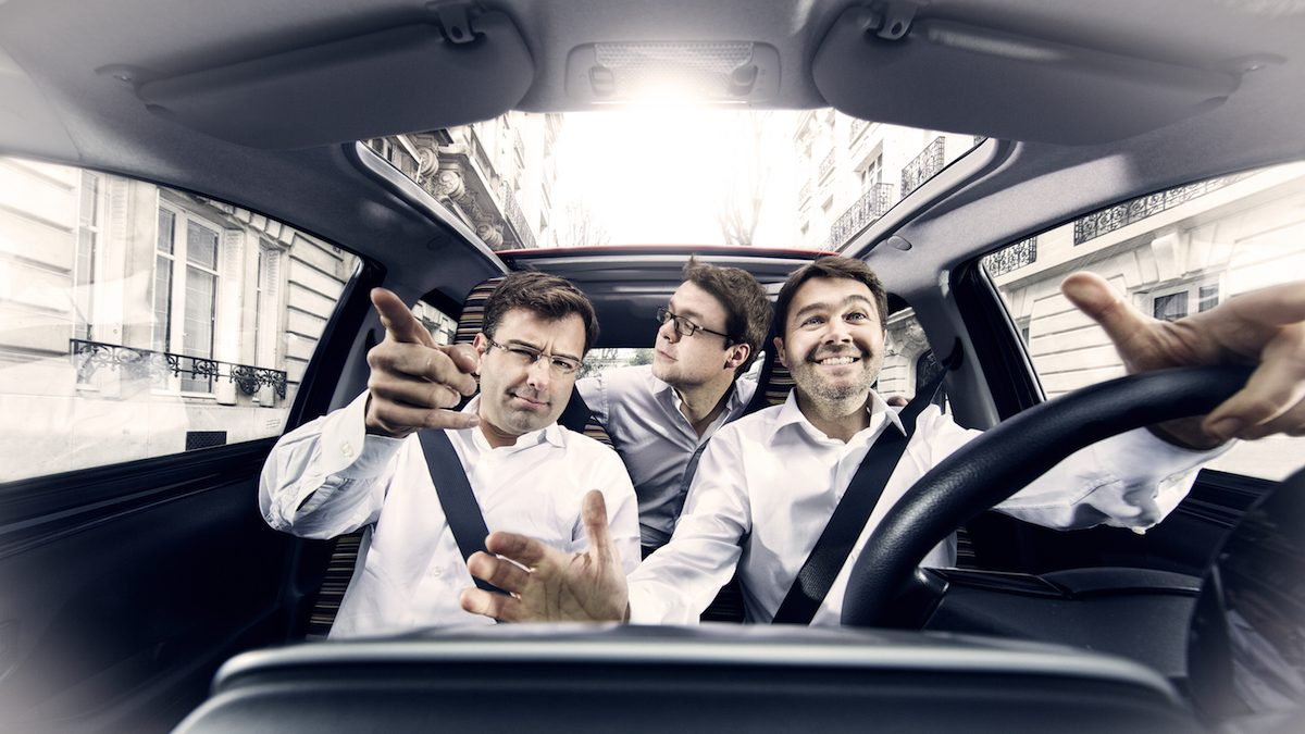 Los fundadores de BlaBlaCar: Nicolas Brusson, Francis Nappez y Frédéric Mazzella (Foto: BLABLACAR).