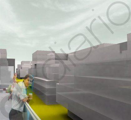 Plano 3D de la Parcela UE-124 de Arganda del Rey (Imagen: OKDIARIO)