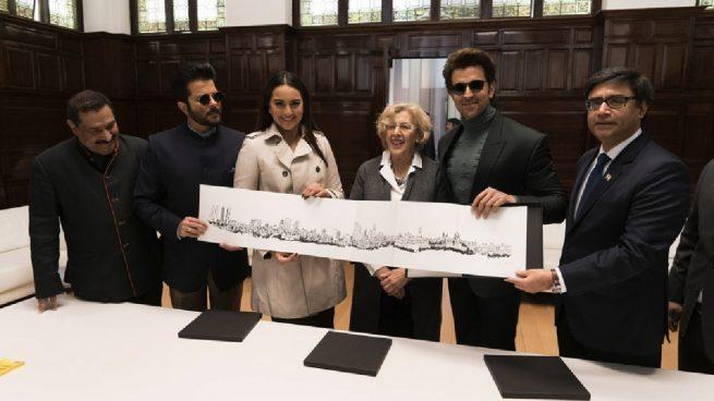 Carmena paga con dinero público la habitación en el Palace a un millonario indio de la lista Forbes