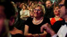 La alcaldesa Carmena en los Premios Goya. (Foto: GETTY)