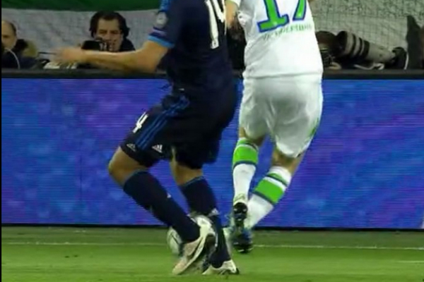 Casemiro no cometió penalti sobre Schürrle.