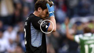 Nuevo error de Casillas con el Oporto. (AFP)