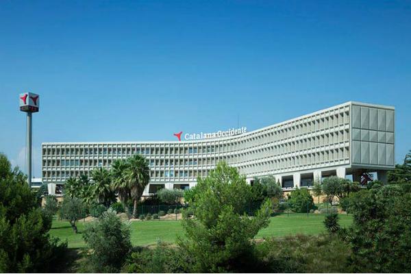 Sede del grupo Catalana Occidente en Sant Cugat.
