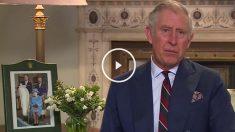 Aquí puedes ver la lectura del Príncipe de Gales. (Video: BBC)