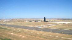 Imagen de las pistas del aeropuerto de Ciudad Real.