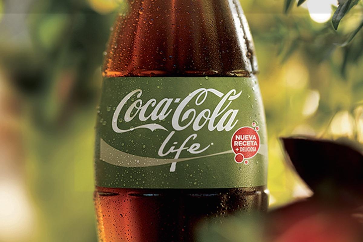 Botella de Coca-Cola Life (Foto: COCA-COLA ARGENTINA).