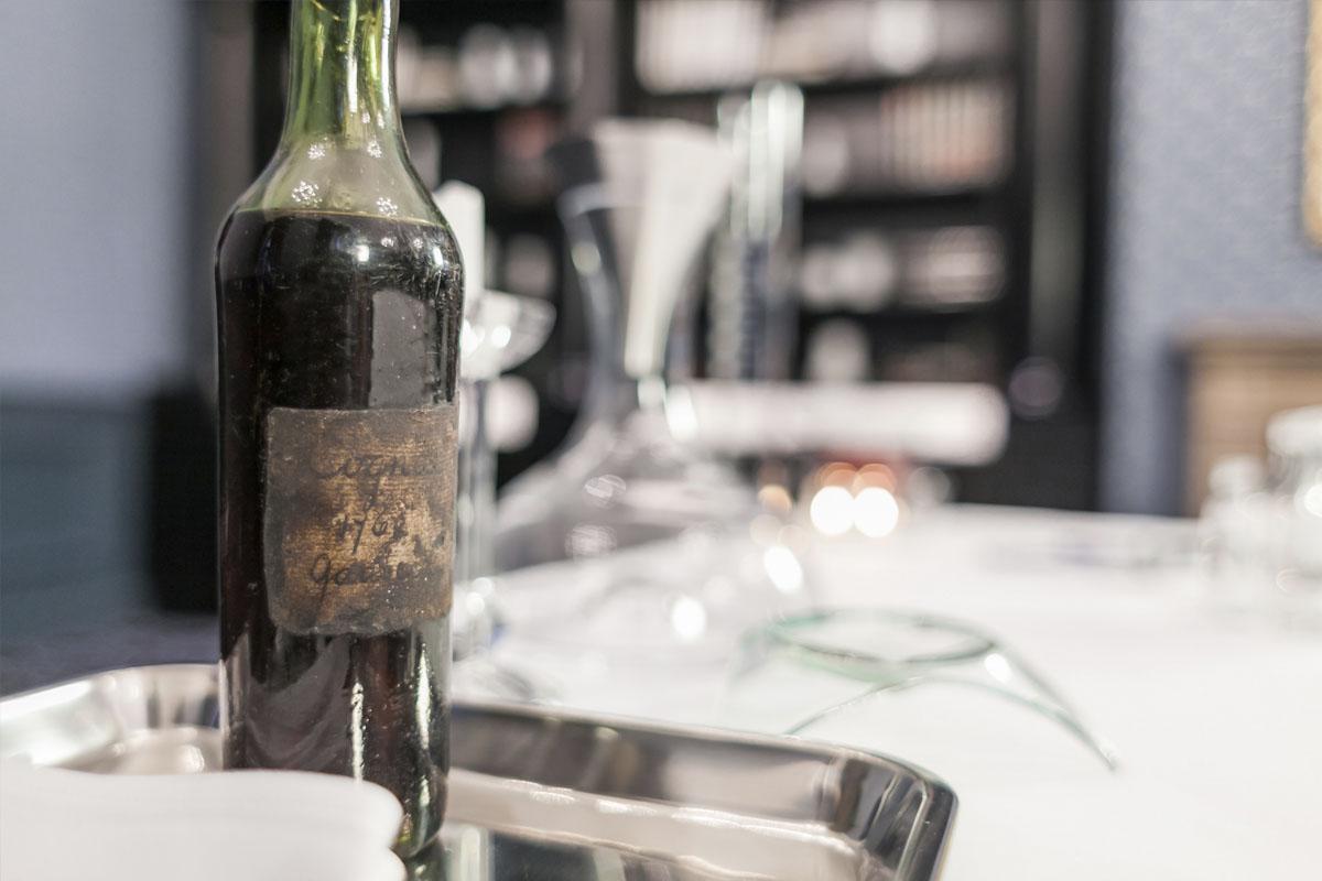 Cognac Gautier 1762. (Foto: Bonhams)