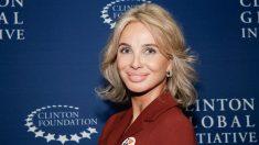 Corinna posa durante un acto de la Clinton Global Initiative. (Foto: AFP)