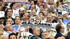 La afición del Real Madrid quiere la remontada. (AFP)