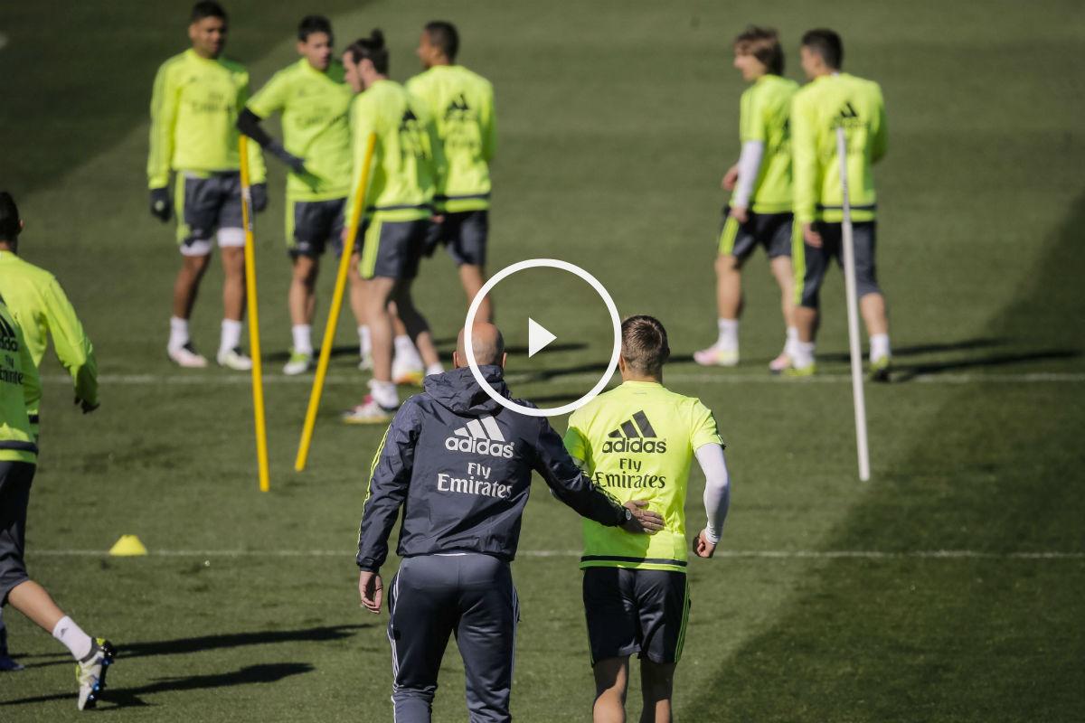 Zidane prepara cambios contra el Eibar. (EFE)