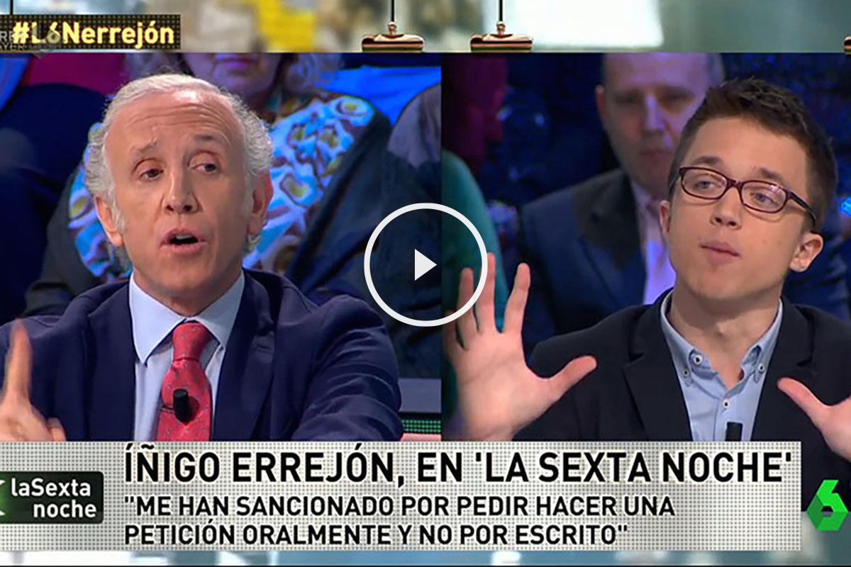 Íñigo Errejón en La Sexta Noche