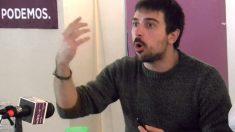 El portavoz de Podemos en el Senado, Ramón Espinar.