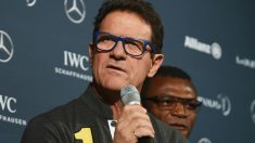 Fabio Capello, en los premios Laureus. (Getty)
