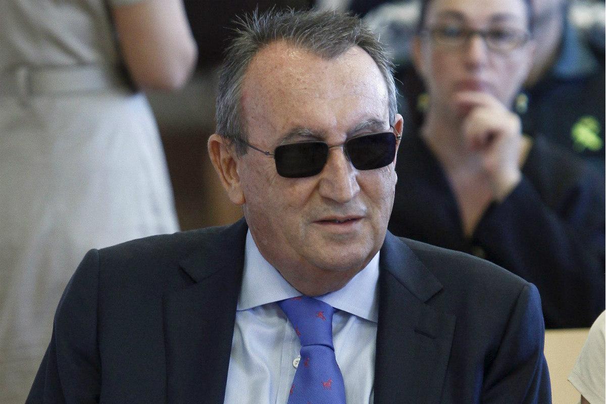 El ex presidente de la Diputación de Castellón, el 'popular' Carlos Fabra. (Reuters)