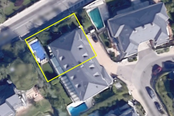 Imagen de la parcela de Ignacio González (Google Maps)