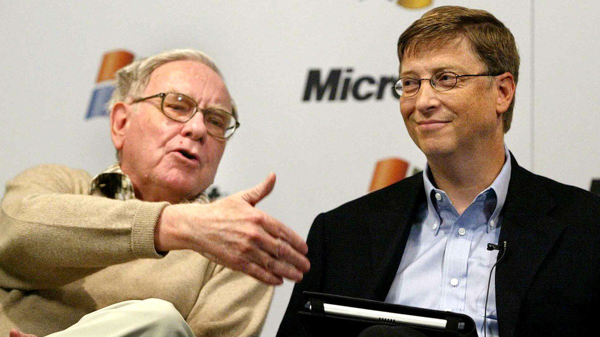 Warren Buffet y Bill Gates. (Foto: Reuters)