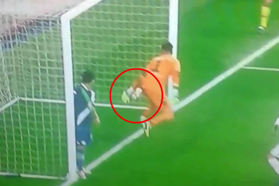 ¿Cruzó el remate de Sergio Ramos la línea de gol?
