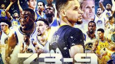 Los Warriors de Curry batieron el récord de los Bulls de Jordan. (NBATV)