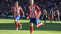 Griezmann marcó el gol de la victoria para el Atlético. (Getty)
