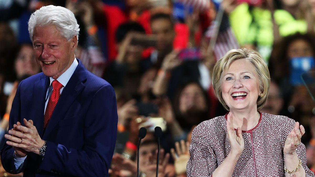 Hillary y Bill Clinton. (Foto: Getty)